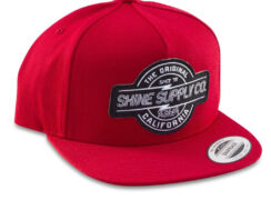 Shine Supply CO Snapback Hat - Red
